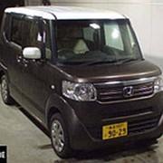 Микровэн HONDA N BOX PLUS кузов JF2 минивэн для пассажира колясочника гв 2013 4WD пробег 199 т.км коричневый фото