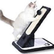Когтеточка Trixie 43115 доска наклонная, 30х42х40см., черный/белый. фото