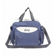 Компактная сумка для мамы Baby, 36х9х26 см, синий фото