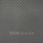 Экокожа Perforated/ Black 024 фото