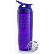 Шейкер Blender Bottle SportMixer Signature Sleek 828 мл. фиолетовый/Tartan фото