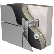 Навесные фасадные системы КРАСПАН ВСт L-образная для композитных панелей фото