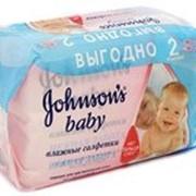 Салфетки Johnson's baby детские Нежная забота 128шт фото