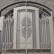 Ворота распашные РВ-1 фото