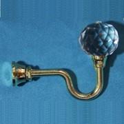 Крючок для шторы металлический R 4 золото фото