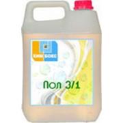 ПОЛ 3/1, Усиленное щелочное средство для мытья помещений и оборудования от застарелых органических.белковых и жировых загрязнений с дезинфицирующим эффектом. фото