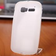 Чехол силиконовый для Alcatel Pop C5 белый фото