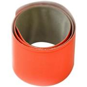 Световозвращающий Slap-браслет (фликер), оранжевый, (Blicker) фото