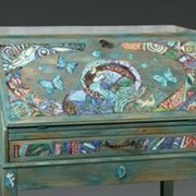 Художественная роспись мебели фото