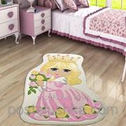 Коврик в детскую комнату Confetti Princess 100*160 розовый фото