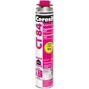 Полиуретановый клей для пенополистирола Ceresit (Церезит) CТ 84 «Express», 850 мл. фото