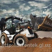 Экскаватор-погрузчик HMK 102В фото