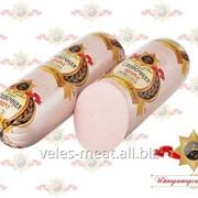 Колбаса Сливочная арома вареная высшего сорта фото