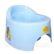 Горшок детский туалетный с крышкой С118 фото