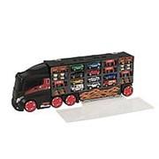 HTI Игровой набор для детей Teamsterz Автоперевозчик с 10 премиум машинками (1416447.00) фото