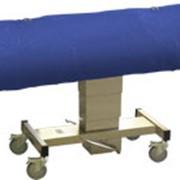 Тележка медицинская для перевозки больных ТАП-01(анатомическая с закрывающимся верхом) фото