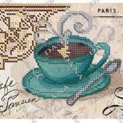 Схема для вышивания бисером Утренний кофе фото