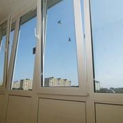 Балконное стекление фото