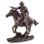 Скульптура Ковбой на коне 28х28х9,5см. арт.WS-437 Veronese фото