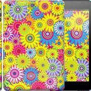 Чехол на iPad 5 Air Разноцветные цветы 1841c-26 фото