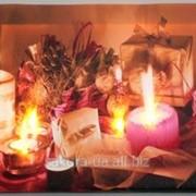 Картина с подсветкой / Подарки / Свечи e12308 фото