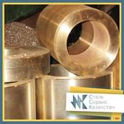Втулка бронзовая 130 ГОСТ 613-79, ГОСТ 493-79, марка бражмц фото