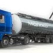 Услуги перевозок в автомобильных цистернах пищевых жидких продуктов фото