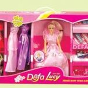 Кукла с нарядами и аксессуарами арт. 20963 фото