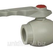 Клапан пластиковый шаровой FV Plast 20 фото