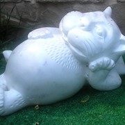 Скульптура Кот фото