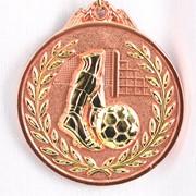 Медаль рельефная Футбол бронза фото
