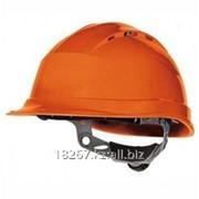 Каска защитная (оранжевая) фото