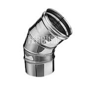 Колено Феррум угол 135° Ф120 (430/0,5 мм) фото