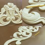 Деревянные накладки на мебель, декоративные изделия из натурального дерева, изготовление деревянных декоративных элементов в Одессе фото