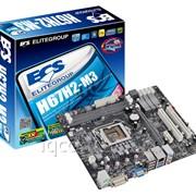 Материнская плата LGA-1155 ECS H67H2-M3 Intel H67 2x DDR3 1 HD Graphics Micro-ATX 2x USB3,0 Box фото