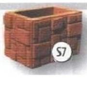 Формы для производства столбов (Наборный столб Домино S7) фото