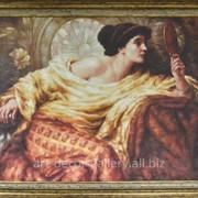 """Картина """"Девушка с зеркалом"""" 91х121 фото"""