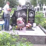 Установка памятника на кладбище фото