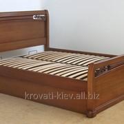 """Двуспальная кровать """"Афина"""" из массива ясеня фото"""