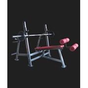 Тренажер Life Gym LK 9034 скамья для жима отрицательная фото