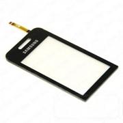 Тачскрин (сенсорное стекло) для Samsung S5230/S5233 black фото