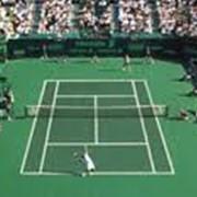 Строительство теннисных кортов и футбольных полей фото