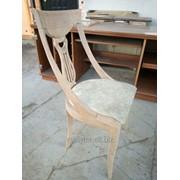 Реставрация декоративного стула фото
