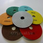 Алмазные гибкие шлифовальные круги АГШК с водой (мокрые) HESS фото