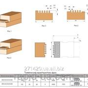 Фреза для сращивания древесины по ширине и длине 100х32х50х4 050.03.00.00.000 фото