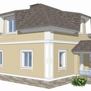 Реставрация фасадов. 3D визуализация фото