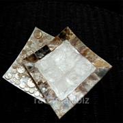 Квадратная тарелка фото