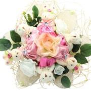 Букет из мягких игрушек Розовый сад 5081 фото
