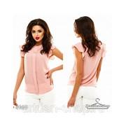 Блуза креп- шифон 4969 фото