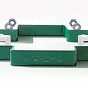 Комплект крепежа прямого GARDIS (цвет Зеленый) фото